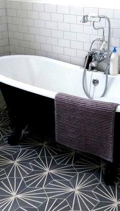 """Marokkanisches Mosaik-Fliesen-Haus Menara 8 """"x Zement-Feld-Fliese Bathroom Floor Tiles, Shower Floor, Bathroom Wall, Wall Tiles, Tile Floor, Cement Tiles, Bathroom Ideas, Bathroom Tile Patterns, Tiles Uk"""