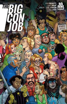 The Big Con Job #3 Review