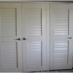 Sliding Shutter Doors For Closet