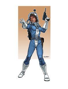 Eric Lofgren Presents: Pulp Spacewoman - Misfit Studios | Eric Lofgren | Publisher Resources | DriveThruRPG.com Privateer Press, Pulp, White Wolf, Stock Art, Art File, Misfits, All Art, Art Images