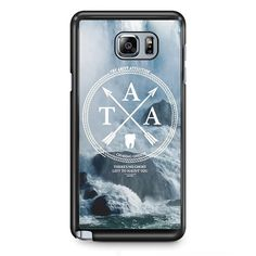 The Amity Affliction Waterfall TATUM-10635 Samsung Phonecase Cover Samsung Galaxy Note 2 Note 3 Note 4 Note 5 Note Edge