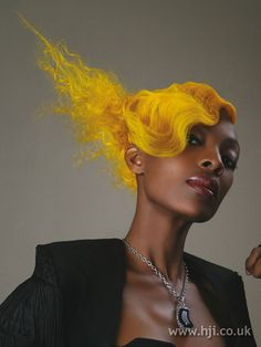 yellow hair! <3