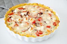 pai med kylling og feta