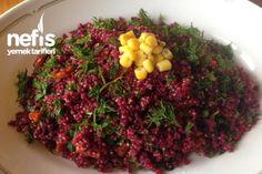 Pancarlı Kinoa Salatası (Qunia Salad) Tarifi
