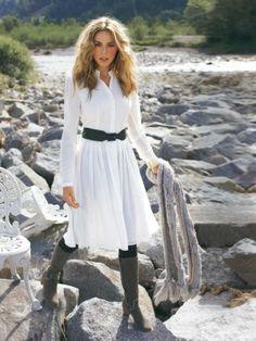 Schnittmuster: Kleid - langarm - Blusenkleider - Kleider - Damen - burda style NR. 109-012010-DL