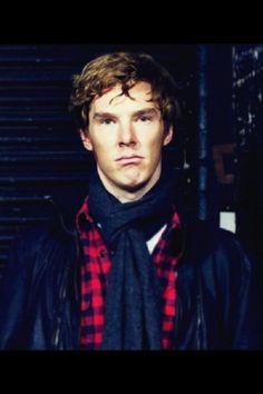 Ben - looking adorably grumpy!