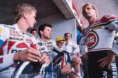 1989 GP de Italia, los líderes se niegan a correr, gana Chili