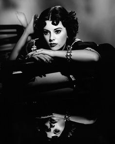noir hollywood glamour | Megahn Perry by Nick Loizides in Film Noir: 30 Impressive Portraits