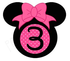 Minnie Mouse Birthday Iron On T Shirt Transfer for by PartyPoopers, $5.00