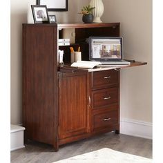 Liberty Furniture Computer Cabinet 718 Ho108