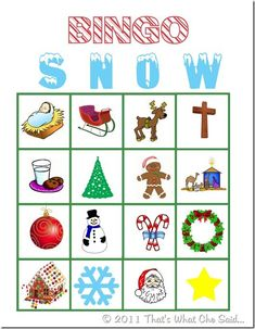 Free printable Christmas Bingo and Calling Cards! Use some m&m's for markers and you have yourself a fun holiday game with your kids! School Christmas Party, Christmas Party Games, Preschool Christmas, Christmas Activities, Holiday Fun, Christmas Holidays, Christmas Crafts, Mexican Christmas, Holiday Quote