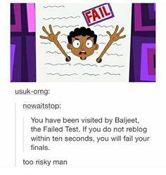 O shit Not taking that risk