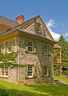 FARMHOUSE – vintage early american farmhouse in historic new england, another fine example is the solebury farmhouse addition by fredendall building company.