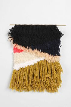 Cold Picnic The Mother Of Rivers Hand-Knotted Wall Hanging - Urban Outfitters