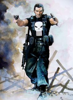 The Punisher by Fabrice Le Hénanff