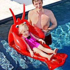I wish they made these for adults. I've got a real thing for novelty lobsters, crabs and prawns!