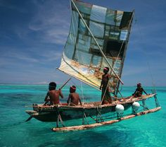 More PNG locals, stunning water and hand built boat. #png #culture #fishing #indigenous #northstarcruises