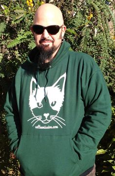 Jackson Galaxy supports Cat Tee Mission! 100% of proceeds of all sales go to cat rescue groups: www.catteemission.com