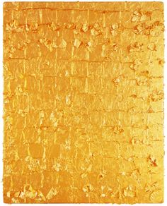 Yves Klein. Untitled Gold Monochrome, 1962.