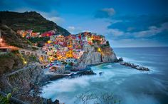 Photograph Cinque Terre- The best being Manarola by Gowri Shankar on 500px