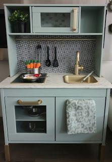 living room ideas – New Ideas Montessori Playroom, Toddler Playroom, Ikea Kids Kitchen, Kitchen Hacks, Kitchen Ideas, Playroom Design, Playroom Decor, Bella Kitchen, Ideas Hogar