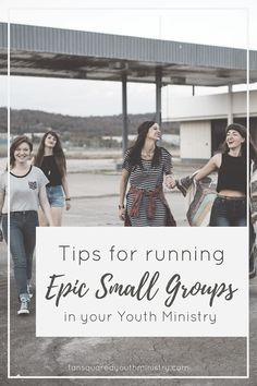 7 tips for having epic small groups during your Youth night. Youth small groups led by your youth. Tansquared Youth Ministry