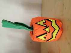 Preschool halloween craft
