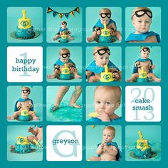 Captain Baby/ Baby Boy Super Hero Birthday by TheBellaBooBowtique Baby Pictures, Baby Photos, Boy Birthday, Birthday Ideas, Baby Superhero, Party Themes, Party Ideas, Cake Smash, Scrapbooking Layouts