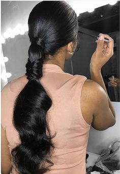 'I hope i never die with creativity left in my heart Hair Ponytail Styles, Ponytail Hairstyles, Straight Hairstyles, Girl Hairstyles, Pretty Hairstyles, Curly Hair Styles, Natural Hair Styles, Carnival Hairstyles, Summer Hairstyles