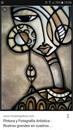 Art 'Cubist 139 2436 GW Original Cubist Art Identity Crisis' - by Thomas C. Fedro from Cubist Cubist Paintings, Cubist Art, African Paintings, Tableau Pop Art, Urbane Kunst, Afrique Art, Abstract Face Art, Art Tribal, Creation Art