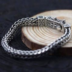 Men's Sterling Silver Fleur De Lis Wheat Chain Bracelet – Men's style, accessories, mens fashion trends 2020 Bracelets For Men, Fashion Bracelets, Jewelry Bracelets, Fashion Jewelry, Bracelet Men, Pandora Bracelets, Trendy Bracelets, Skull Bracelet, Bracelet Watch