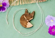 Totally cute animal necklaces from Vegan Cuts, with 10% of the proceeds going to non-profits!