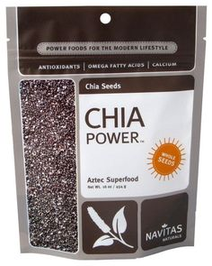 This is cool - Chia seeds blow up in your stomach so you don't eat as much- throw a few in whatever your cooking.