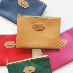79a6e3296597 Buy  iswas – Synthetic Leather Pouch - (L)  with Free International Shipping  at YesStyle.com. Browse and shop for thousands of Asian fashion items from  ...