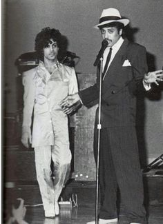 With Morris Day