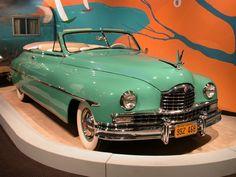1949 Packard Super 8 Convertible at the Petersen Automotive Museum -- gorgeous!