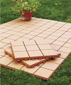 Backyard Floor create an instant patio-on any grass, dirt or sand surface! ultra