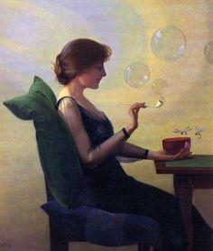 heaveninawildflower: 'The Slacker' by Harry Wilson Watrous (1857-1940).