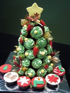 cupcake Dhristmas xmas ideas - Juxtapost