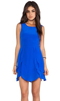 Wish Petal Dress in Cobalt | REVOLVE