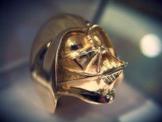 Darth Vader Gold Ring!