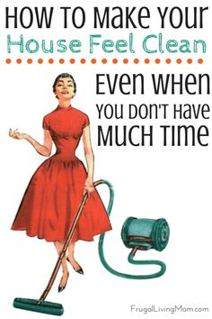 This Post Contains Affiliate Links - Disclosure Policy As any Lazy Girl knows, housework is the pits. Now, I know there are those of you out there that LOVE to clean. But I am a Lazy Girl.. so that is not me. Yet even Lazy Girls can't have a gross home. If I was not a Frugal Girl, too, I would have a housecleaner. I had a house cleaner come out one time because I got a Groupon. It was  {Read More}
