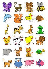 Resultado De Imagem Para Desenho De Animais Coloridos Projeto