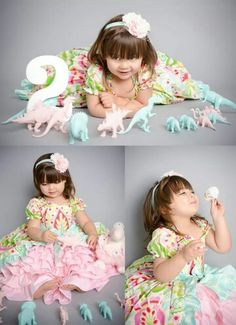 42 Ideas Baby Shower Ideas For Girs Themes Pink Princesses Tea Parties Girl Dinosaur Birthday, Baby Girl Birthday, 3rd Birthday Parties, Dinosaur Party, 1st Birthdays, Second Birthday Ideas, Third Birthday, Princess Tea Party, Shower Ideas