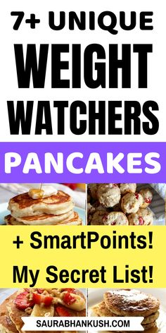 Easy Weight Watchers Pancakes Recipes With Smartpoints? Eat my Best Weight watchers pancakes recipes with points including Low to 0 Points Weight Watchers Pancakes Freestyle recipes. My favorite is Weight watchers banana pancakes, you might like them too. Weight Watcher Desserts, Weight Watchers Snacks, Weight Watchers Pancakes, Weight Watchers Breakfast, Weight Watcher Dinners, Weigh Watchers, Ww Recipes, Lunch Recipes, Light Recipes