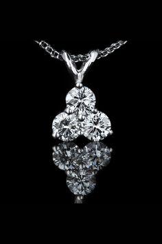 Angara Round Enhanced Blue Diamond Three Stone Stud Earrings(3.6mm) xY7JVt3K