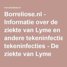 Dating een meisje met de ziekte van Lyme