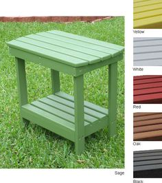Outdoor Side Table- Porch Swing