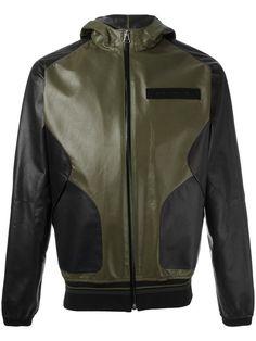 GIVENCHY Hooded Leather Jacket. #givenchy #cloth #jacket