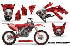Honda Graphic Kits - Honda MX Decals and Stickers for dirt bikes crf cr cr crf crf xr cr Honda Dirt Bike, Dirt Bikes, Motocross, Sumo, Decals, Motorcycle, Kit, Stickers, Design